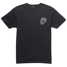 Deus Ex Machina Venice Skull T Shirt - Black