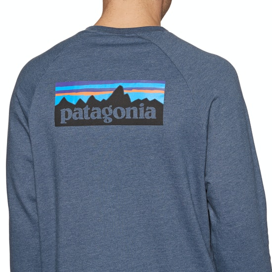Patagonia P-6 Logo Lw Crew Pullover