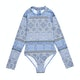 Seafolly Pop Palace Long Sleeve Girls Swimsuit