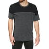 T-Shirt à Manche Courte Icebreaker Kinetica Crewe - Black Heather
