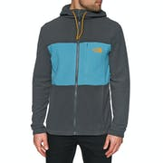 Pile North Face Blocked Full Zip Hooded