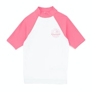 Billabong Arty Short Sleeve Girls Rash Vest