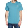 North Face Simple Dome Short Sleeve T-Shirt - Storm Blue