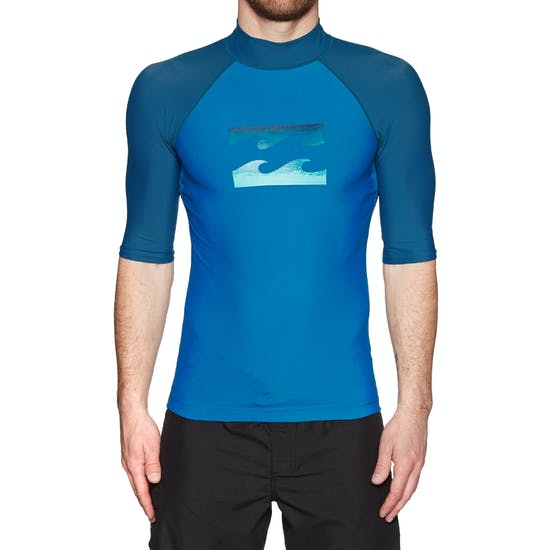 Billabong Team Wave Short Sleeve Mens Rash Vest