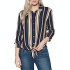 Roxy Suburb Vibs Stripes Ladies Shirt