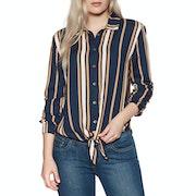 Roxy Suburb Vibs Stripes Womens Shirt
