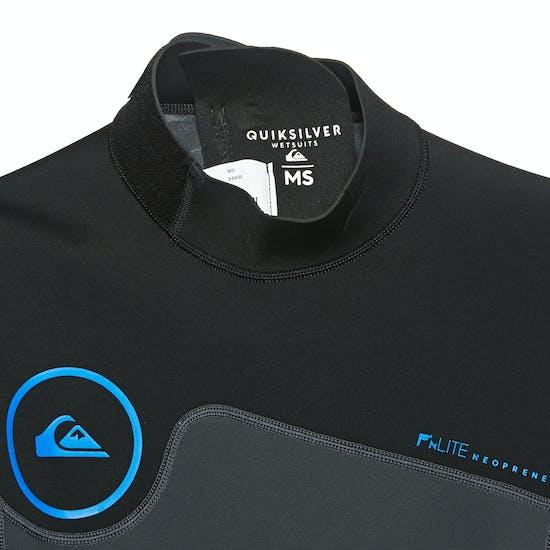 Quiksilver 2/2mm Syncro Series SS Back Zip Flt Springsuit Wetsuit