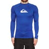 Rash Vest Quiksilver All Time Long Sleeve UPF 50 - Electric Royal
