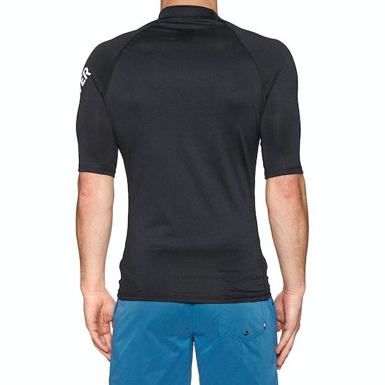 Quiksilver All Time Short Sleeve UPF 50 Rash Vest
