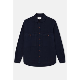 YMC Doc Savage L S Shirt - Navy