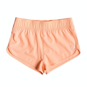 Roxy Surfing Free Girls Boardshorts - Souffle