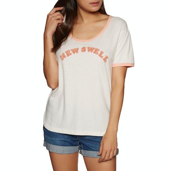 T-Shirt à Manche Courte Femme Roxy Cruel Summer