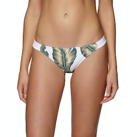 Sotto Bikini Roxy Dreaming Day Regular - Bright White Tropical Love
