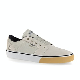 Etnies Barge LS Shoes - White Navy Gum