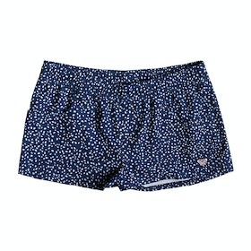 Roxy Seaside Lover Girls Boardshorts - Medieval Blue