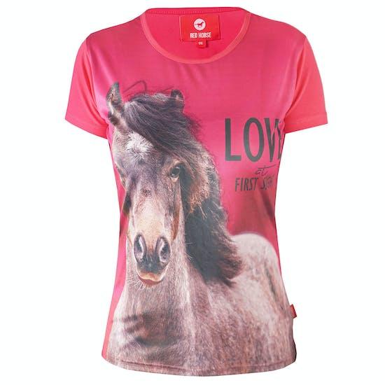 Horka Horsy Kids Short Sleeve T-Shirt