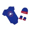 Converse 3pcs Set Baby Grow - Blue