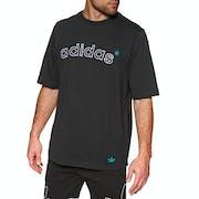 Adidas Originals Archive Logo Embroidered Short Sleeve T-Shirt