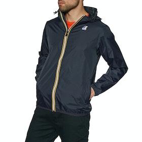K-Way Le Vrai Claude 3.0 Waterproof Jacket - Depth Blue