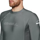 O Neill Basic Skins Long Sleeve Crew Rash Vest
