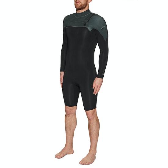 O'Neill Hammer 2mm Chest Zip Long Sleeve Shorty Wetsuit
