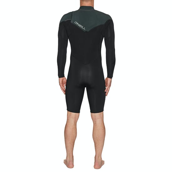 O'Neill Hammer 2mm Chest Zip Long Sleeve Shorty Wetsuit