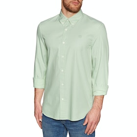 Timberland Milford Solid Oxford Shirt - Frosty Green