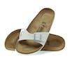 Birkenstock Madrid Narrow Sandals - Magic Snake White