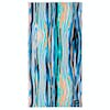 Beach Towel Slowtide Chatter - Turquoise