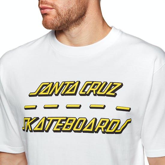 Santa Cruz Street Strip Short Sleeve T-Shirt