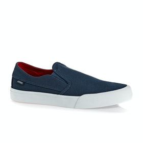 Mocassins Etnies Langston - Navy Red White