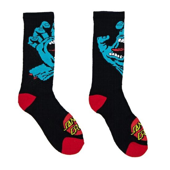 Santa Cruz Screaming Hand Sports Socks