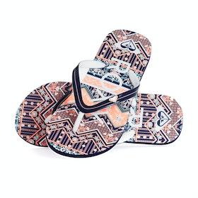 Roxy Pebbles Vip Girls Sandals - Peachie Peach
