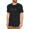 Globe Box Short Sleeve T-Shirt - Black