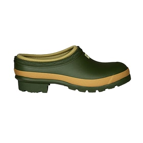 Hunter Gardener Clogs Ladies Wellies - Vintage Green
