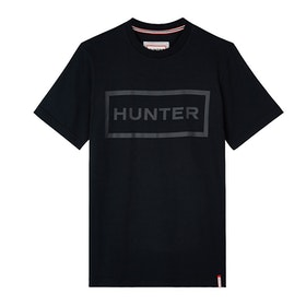Hunter Original Kurzarm-T-Shirt - Black