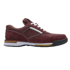Rockport ProWalker Ltd Edition Classic Walking Shoes - Burgundy Nbk Suede