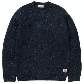 Carhartt Anglistic , Genser - Dark Navy Heather