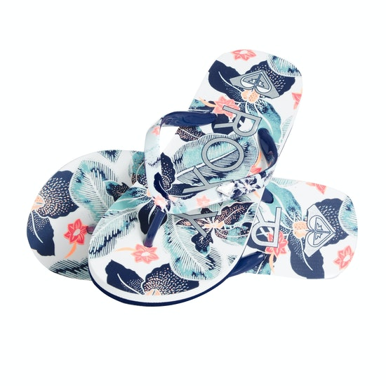 Roxy Pebbles Vip Girls Flip Flops