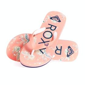 Roxy Tahiti VIP Girls Sandals - Peach Cream