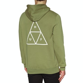 Pullover à Capuche Huf Essentials Triple Triangle - Loden
