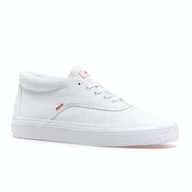 Globe Sprout Mid Shoes - White/white