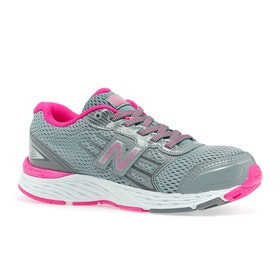 Chaussures Enfant New Balance Kj680 - Grey Pink