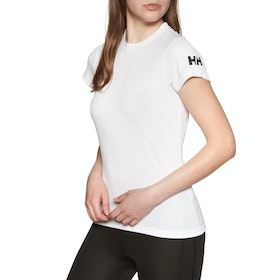 Helly Hansen Tech Womens Running Top - White