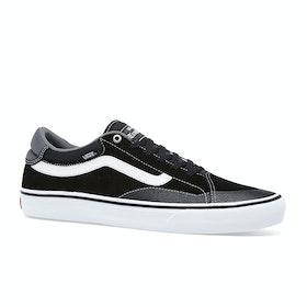 Vans TNT Advanced Prototype Shoes - Black White