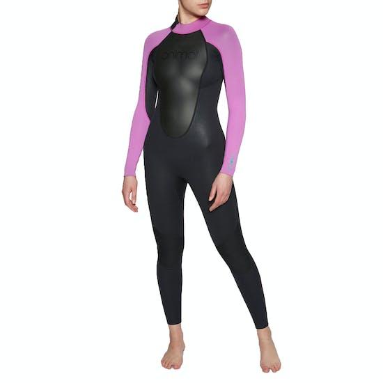 Animal Nova 3/2mm Back Zip Womens Wetsuit