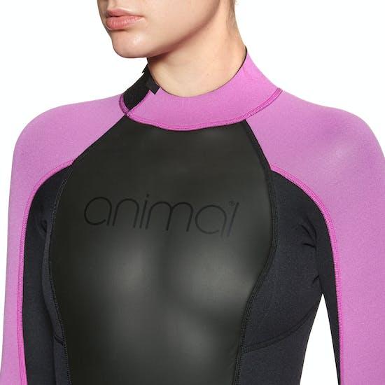 Combinaison de Plongée Femme Animal Nova 3/2mm Back Zip