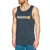 Quiksilver Art Tickle Tank Vest - Blue Nights