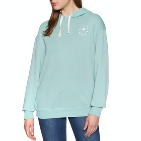Billabong Salty Wash Womens Pullover Hoody - Seagreen