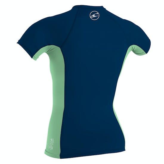 O Neill Premium Skins Short Sleeve Kids Rash Vest